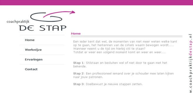 Website – Coachpraktijk